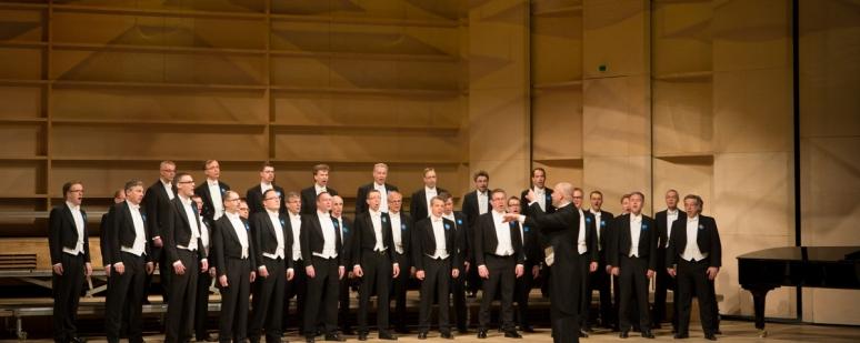 Suomių vyrų choro Muntra Musikanter koncertas Lietuvoje